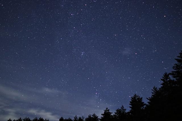 木曽の星空