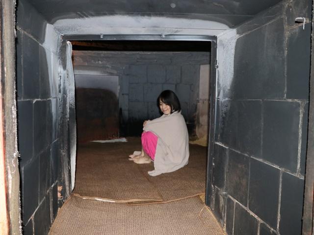 韓国伝統サウナ 仁寺洞汗蒸幕