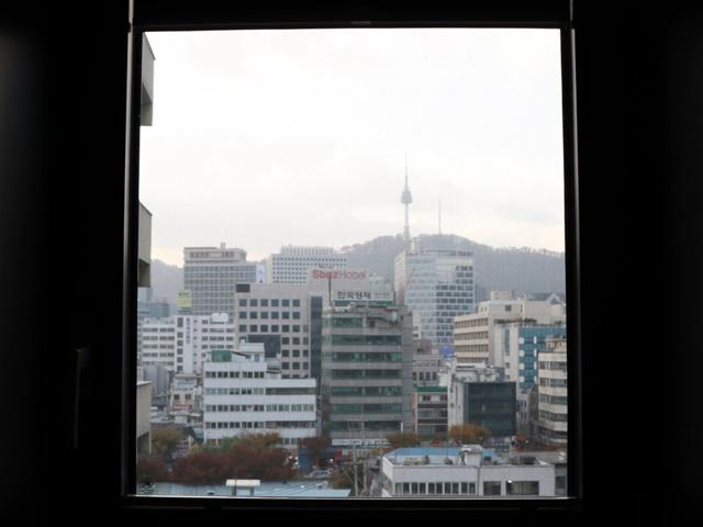 ホテルグリッドイン お部屋からの景色