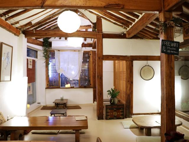 仁寺洞の伝統茶屋 トゥラン