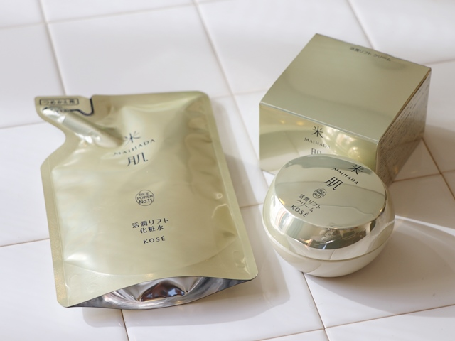 【使用2ヶ月め感想】KOSE米肌のエイジングケア 活潤リフト化粧水&活潤リフトクリームの口コミ