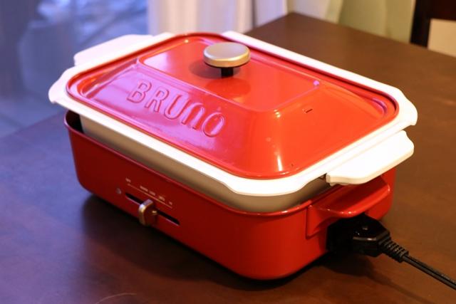 BRUNO コンパクトホットプレート用セラミックコート鍋を使った調理例