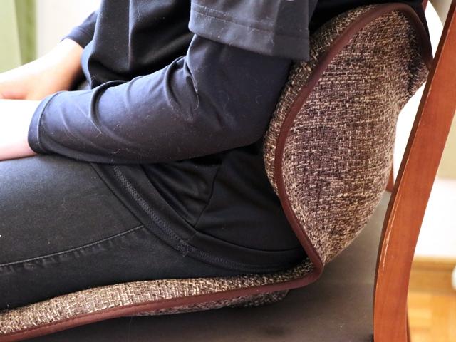 ボディメイクシートスタイルに座った感想