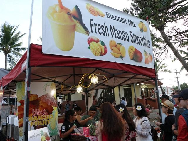 グアムで水曜に行われているチャモロビレッジ・ナイトマーケット