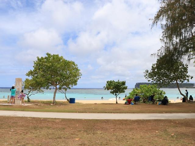 グアムのイパオビーチ
