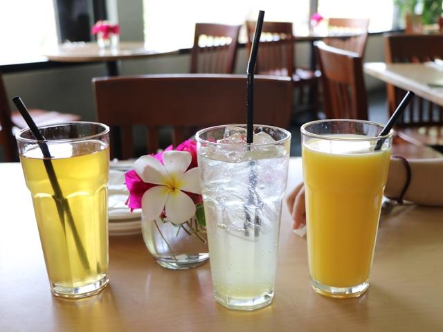 グアムで人気のレストラン「プロア(PROA)」のジュース