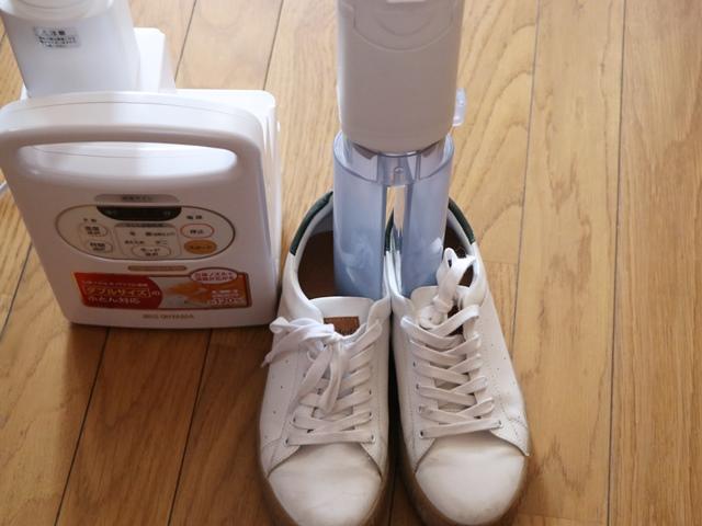 アイリスオーヤマの布団乾燥機 カラリエ FK-C2の靴乾燥