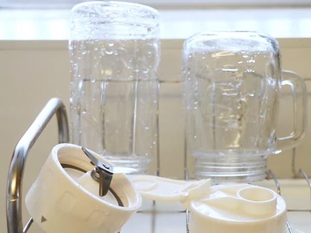 ソロブレンダーソラン 洗う