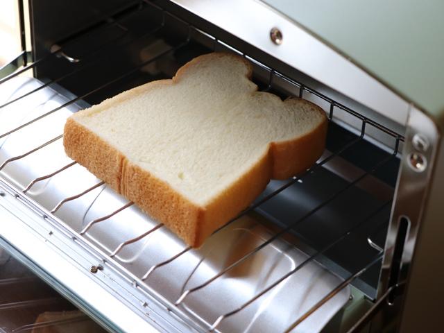 グラファイト トースターでトーストを焼いてみた