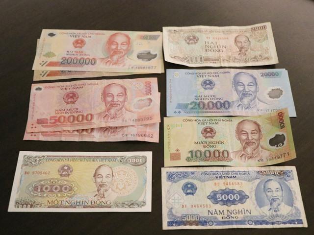 お金の単位(ベトナムドン)を覚えておこう!