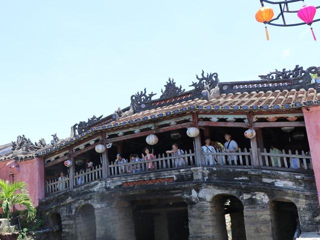 ホイアン旧市街の観光名所、日本橋(遠来橋)