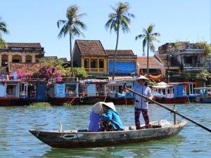 ベトナム・ホイアン旧市街の景色