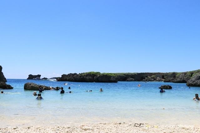 下地島の中ノ島ビーチ