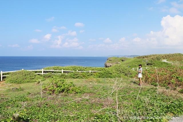 宮古島の東平安名崎灯台