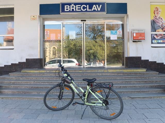 チェコ鉄道でレンタサイクル(自転車を借りる)