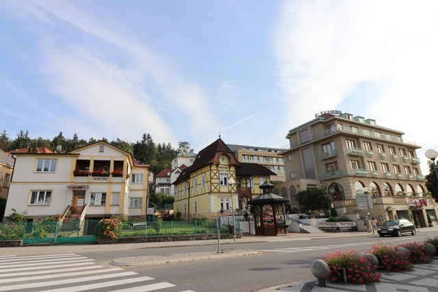 チェコの温泉保養地ルハチョヴィツェのアレクサンドリア スパ&ウェルネスホテル