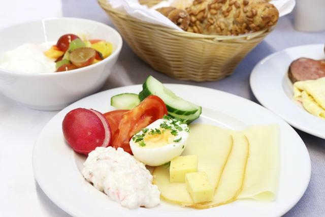 アレクサンドリア スパ&ウェルネスホテル 朝食