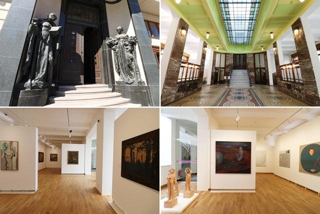 現代アートギャラリー(チェコ語:GALERIE MODERNÍHO UMĚNÍ/英語 the Gallery of Modern Art)