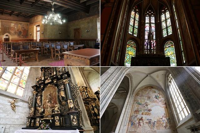 チェコのクトナー・ホラの見どころと観光スポットまとめ ユネスコ世界遺産の聖バルボラ教会とセドレツの聖母マリア大聖堂など