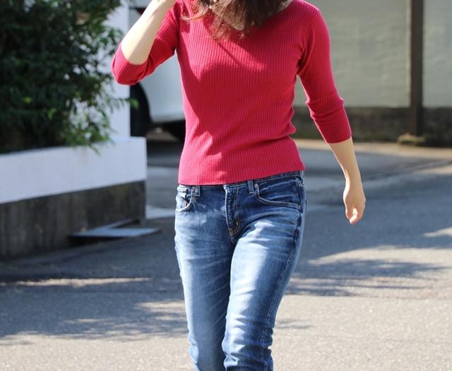 60%OFF! アラフォーがきれいに履けるジーンズ RED CARD レッドカード WOMANデニム