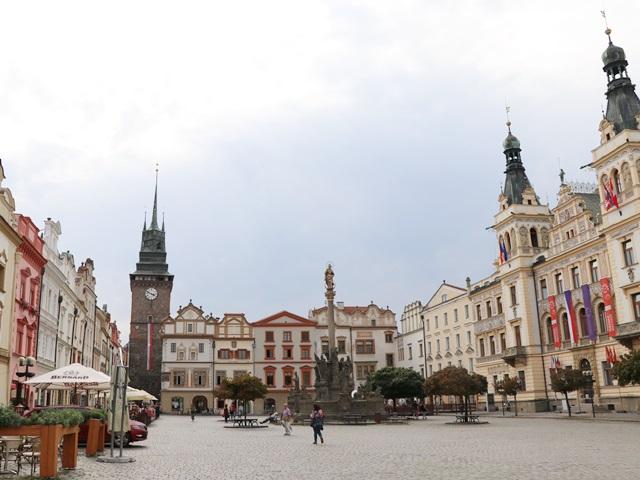 チェコ パルドゥヴィツエ  旧市街