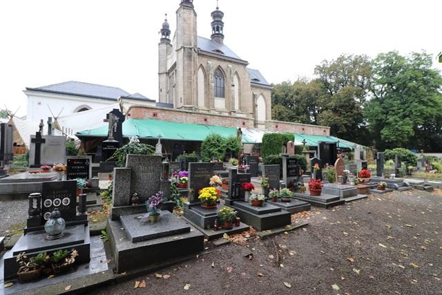チェコ クトナー・ホラの墓地教会(納骨礼拝堂)
