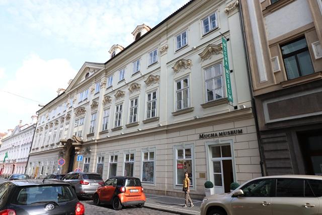 チェコ プラハのムハ(ミュシャ)美術館