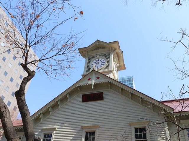 札幌の観光スポット 札幌時計台