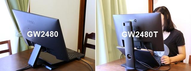 GW2480TとGW2480の違いは?