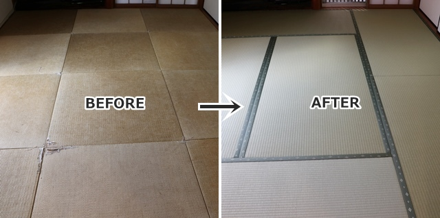 和室の畳の交換(新調)