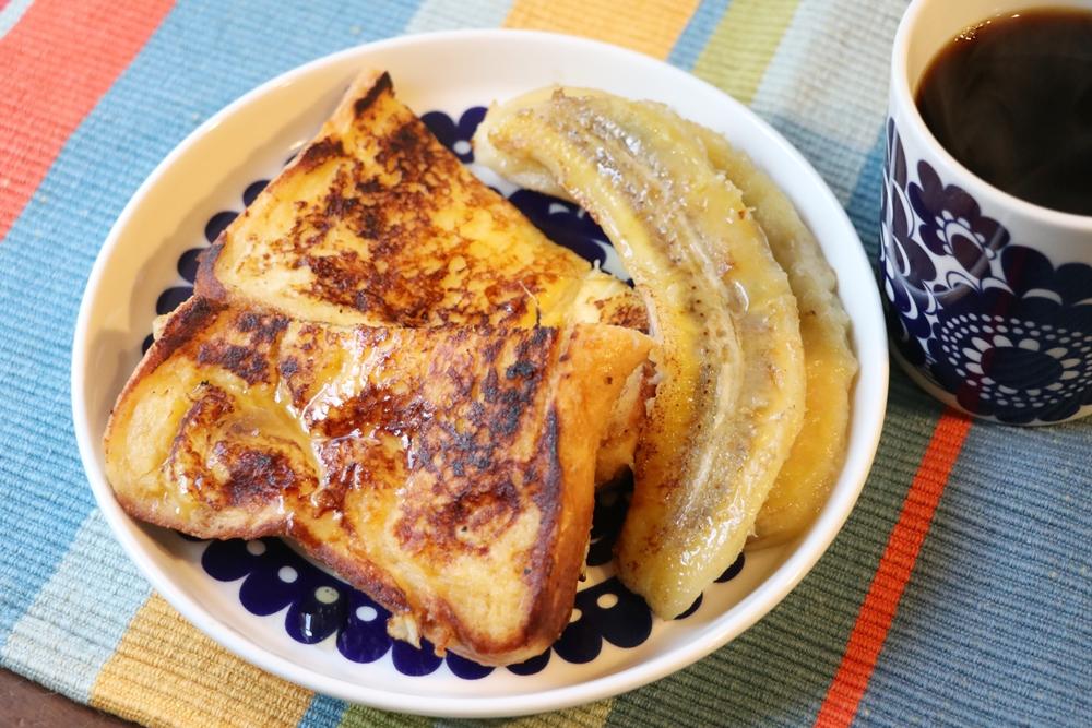 ダクタイルパンで焼いたフレンチトースト