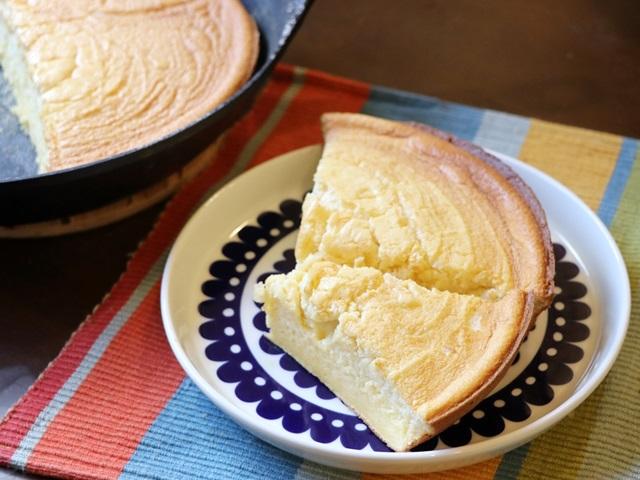 ダクタイルパンでスフレパンケーキを焼いたところ