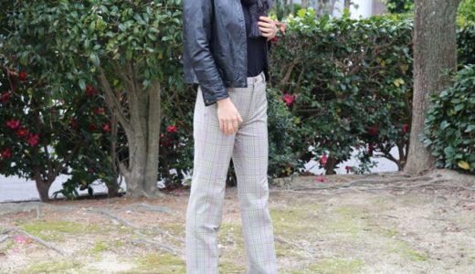 ストレッチパンツ専門店 ビースリーのウォームチェック・ストレートを履いた感想&着画
