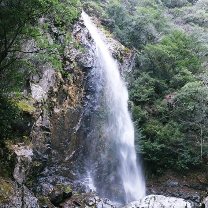 大杉谷の滝