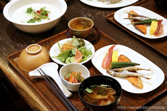 和定食の朝ご飯