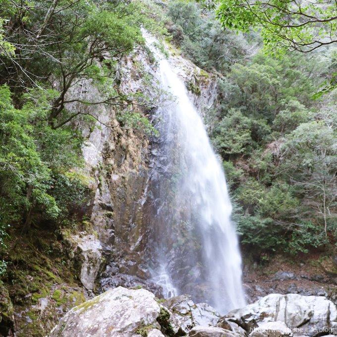 大杉谷の六十尋滝
