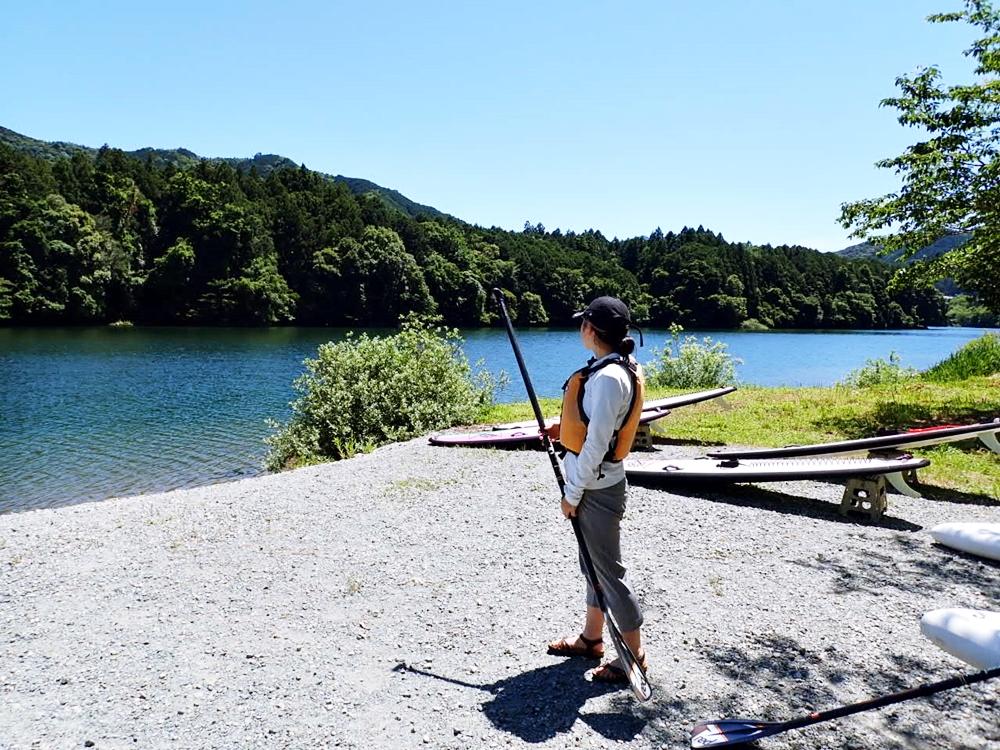 清流宮川(三重県大台町)でのSUP体験