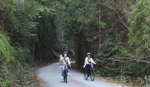 山道もスイスイ! スポーツタイプの電動自転車「E-Bike」に乗って三重県大台町をサイクリング【PR】