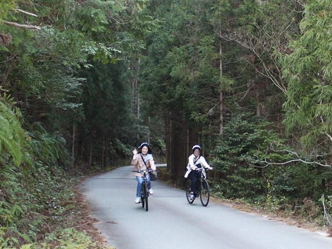 E-Bikeで大台町をサイクリング
