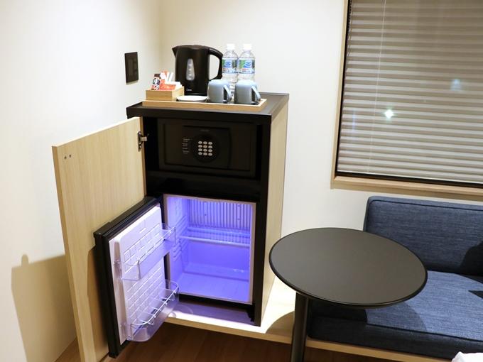 セーフティボックス、ミニ冷蔵庫