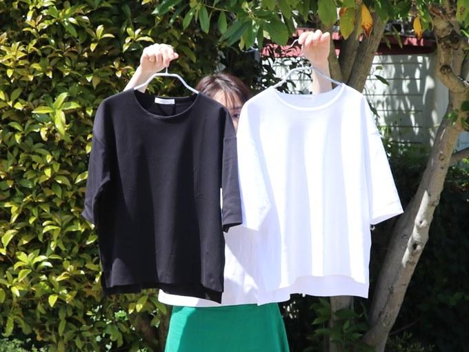 ドゥクラッセTシャツ 白と黒