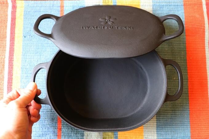 岩鉄鉄器のダクタイル ダッチオーブン