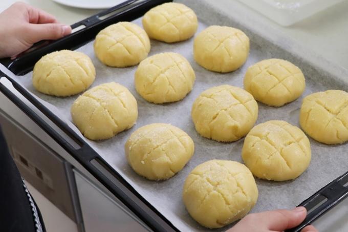 メロンパン作り