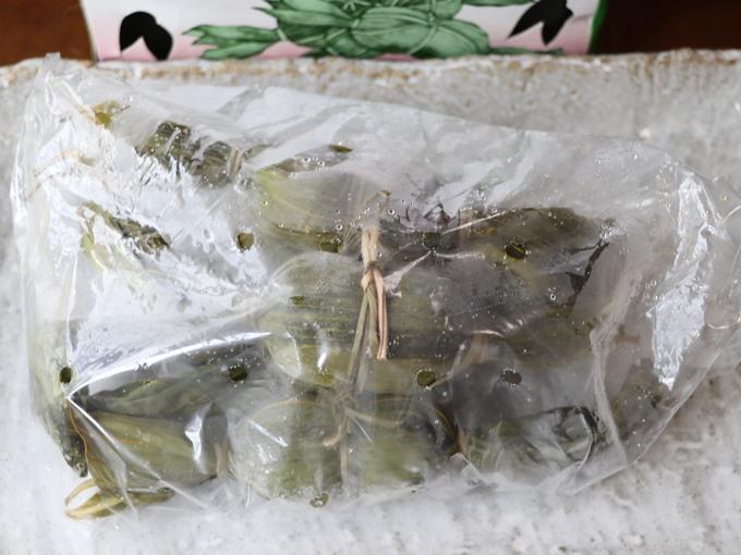 冷凍の笹だんご