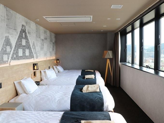 hotel around TAKAYAMA 客室