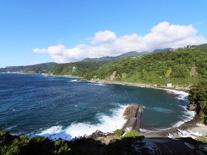 伊豆の海と山