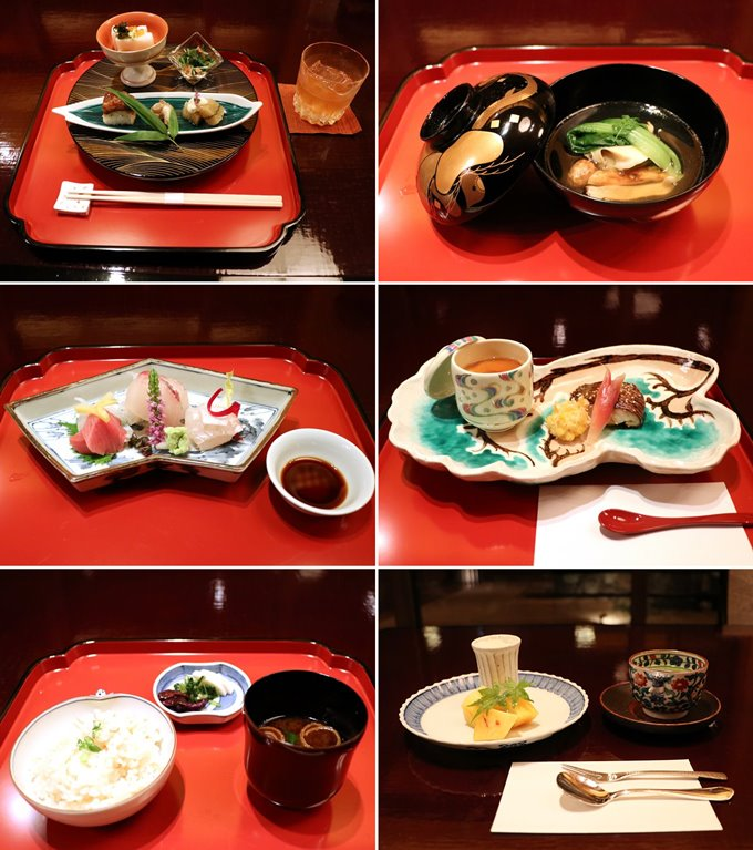 赤沢迎賓館の夕食