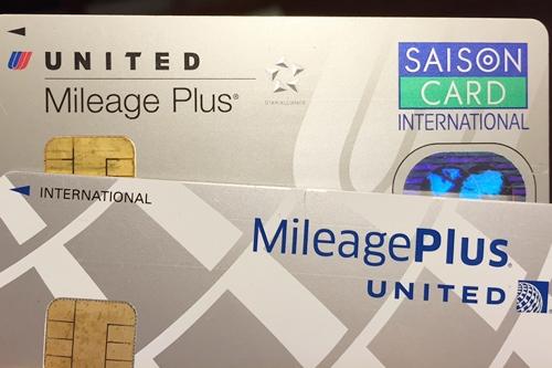 ユナイテッド航空(UA)マイレージプログラムが貯まるクレジットカード2種類